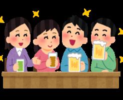 お酒(飲み会)-イメージ