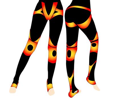 レッグメイクリンパージュの脚痩せ効果-画像