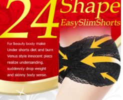 24Shape Easy Slim Shorts-イメージ