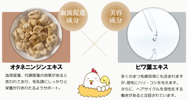マユライズの成分-イメージ