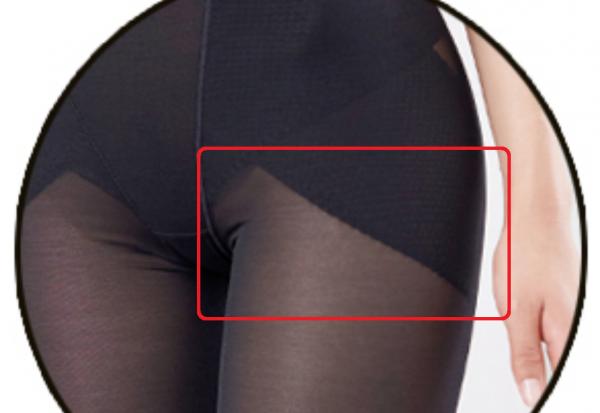 痩せショーツ-セルキューンの脚の付け根部分-画像