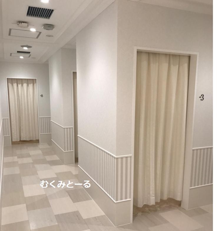 アリシアクリニックの廊下-写真