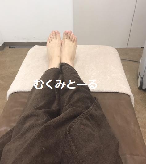 新宿クレアクリニックの脱毛施術時の写真
