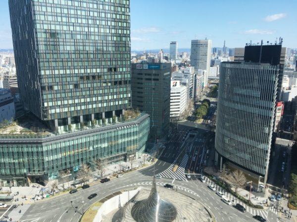 名古屋駅前周辺の写真